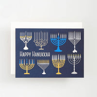 Menorahs Happy Hanukkah Box Set