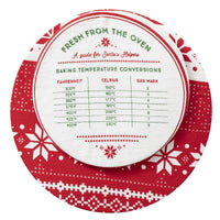Holiday Cotton Bowl Cover Set of 2