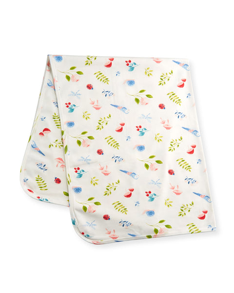 Natures Notebook Swaddle Blanket