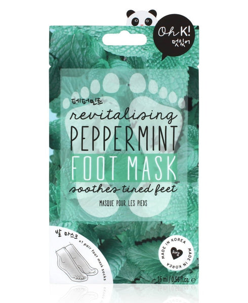 Revitalizing Peppermint Foot Mask