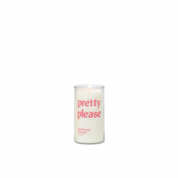 "Spark - ""Pretty Please"" 5 oz. Pink Peony Coconut Candle"