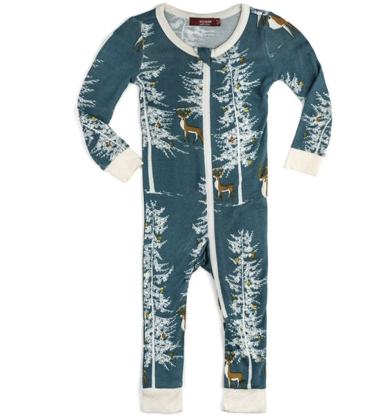 Holiday Zipper PJ