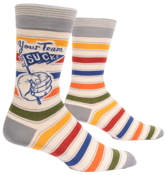 Your Team Sucks Men's Crew Sock