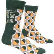 I Love An Easy Challenge Men's Crew Sock