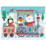 Christmas Train Puzzle To Go