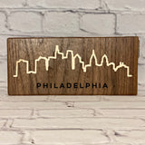 Philadelphia Cityscape Skyline Wall Art