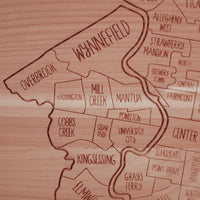 Philadelphia Wall Map