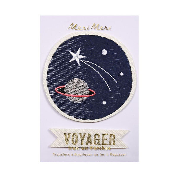 Space Voyager Iron On Patch