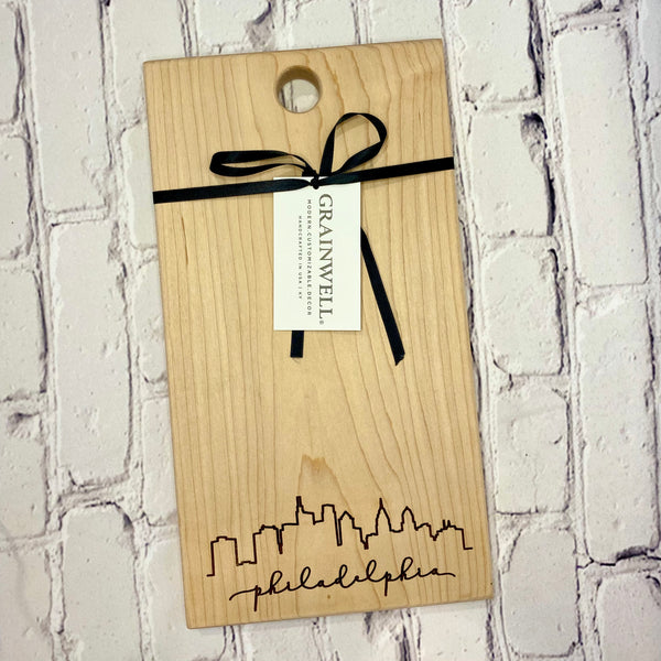 Philadelphia Cutting Board w/o Handle