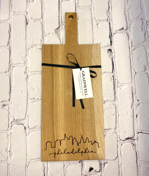 Philadelphia Cutting Board w/ Handle