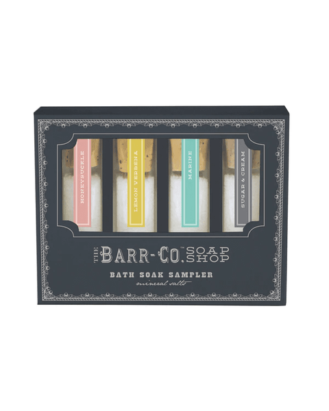 Barr Co. Bath Soak Sampler Set