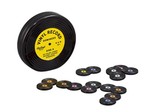 Vinyl Record Dominoes Set