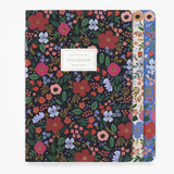 Wild Rose Stitched Notebook