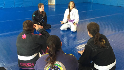 Advice for Women Before Their First BJJ Class