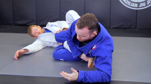 Standing Ankle Lock Cross Sweep