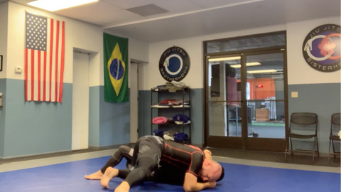 Head and Arm Choke From Mount