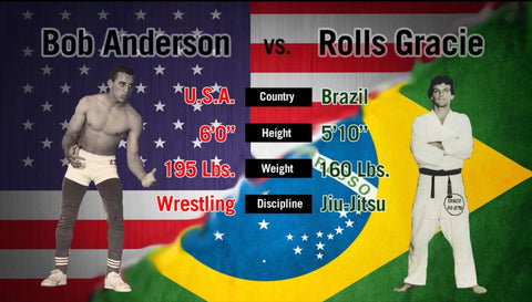 The Story of Rolls Gracie and Bob Anderson