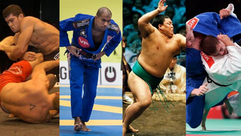 Types of Grappling Martial Arts