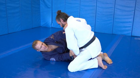 Using the Kimura to Sweep, Control and Submit