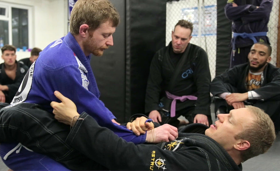 My favorite BJJ sweep part one