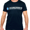'Evolver' Classic (Navy) jiu jitsu shirts | The Jiu Jitsu Brotherhood