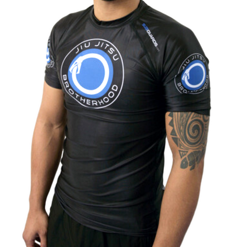 Classic Black Jiu Jitsu Rash Guards | The Jiu Jitsu Brotherhood