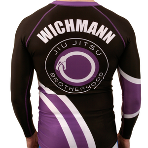 Custom Rashguard (IBJJF Colors)