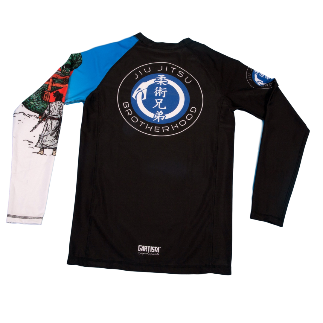 'Face Your Fears' BJJ Rashguards | The Jiu Jitsu Brotherhood