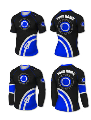 Custom Rashguard (IBJJF Colors) - The Jiu Jitsu Brotherhood  - 7