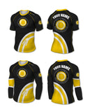 Custom Rashguard - Kids (IBJJF Colors) - The Jiu Jitsu Brotherhood  - 11