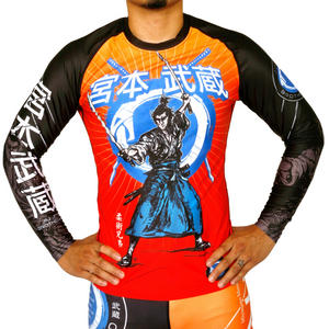 'Musashi' Jiu Jitsu Rash Guards | The Jiu Jitsu Brotherhood