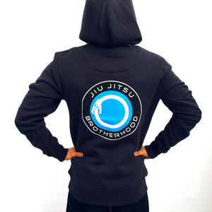 'Open Source' Jiu Jitsu Hoodie (Navy) | The Jiu Jitsu Brotherhood