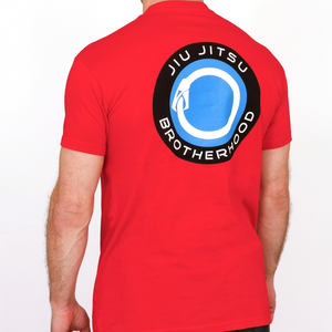 Jiu Jitsu Shirts - 'Evolver' Classic (Red) | The Jiu Jitsu Brotherhood