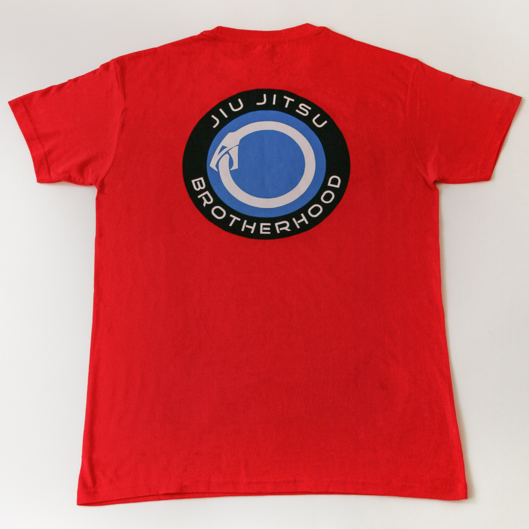 Jiu Jitsu Shirts- 'Evolver' Classic (Red) | The Jiu Jitsu Brotherhood