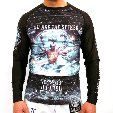 'The Seeker' BJJ Rash Guards | The Jiu Jitsu Brotherhood
