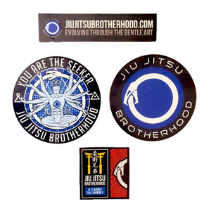 Sticker Pack | The Jiu Jitsu Brotherhood