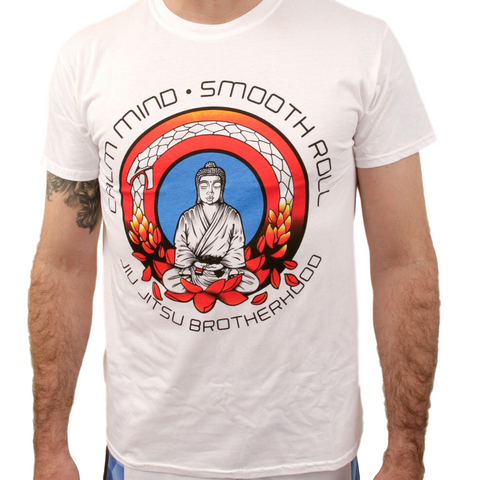 Black Belt Buddha 2.0 (White)