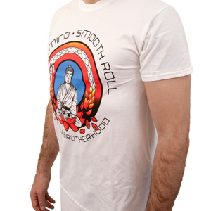 Black Belt Buddha 2.0 T-Shirt (White)