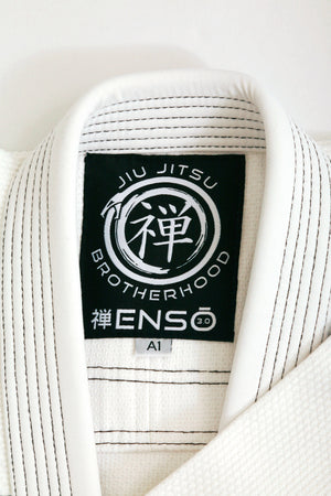 Ensō 3.0 Gi (White) | The Jiu Jitsu Brotherhood