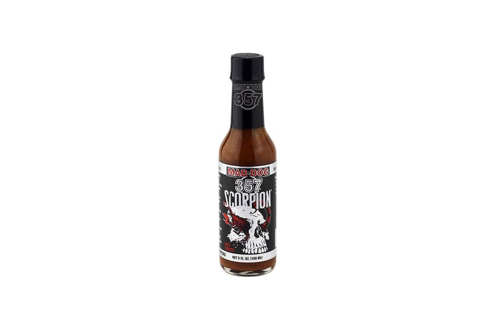 Mad Dog 357 Scorpion Pepper Hot Sauce