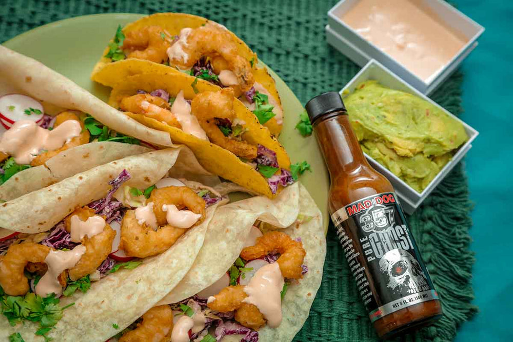 Pure Ghost Shrimp Tacos