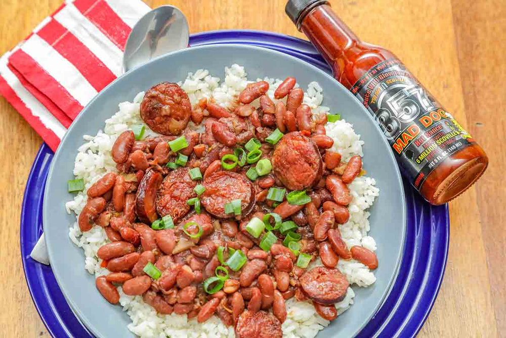 Silver Red Beans and Rice