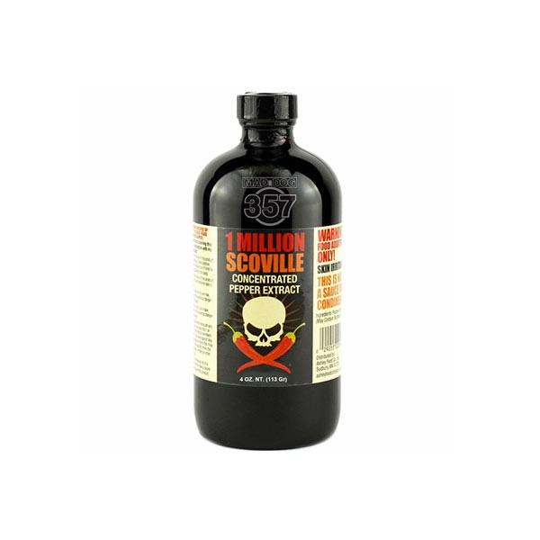 1 Million Scoville Pepper Extract 1-4 oz Pepper Extract maddog357.com