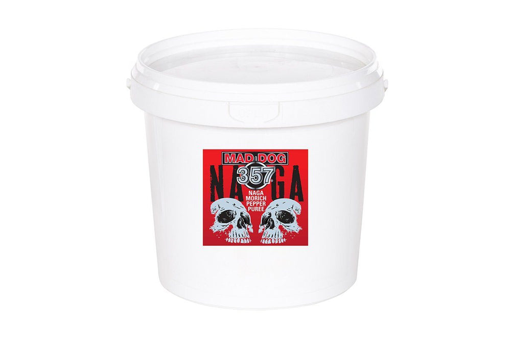 Locally Grown Fresh Naga Morich Ghost Pepper Mash 1 Gallon Pepper Puree