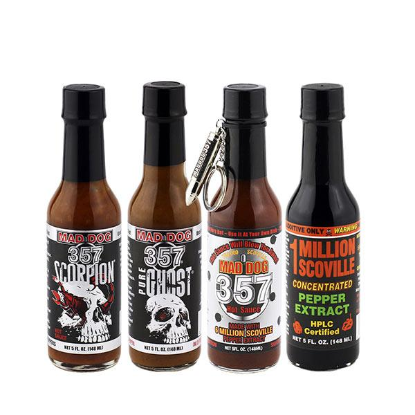 Love is STRAIGHT OUTTA HELL! Hot Sauce maddog357.com