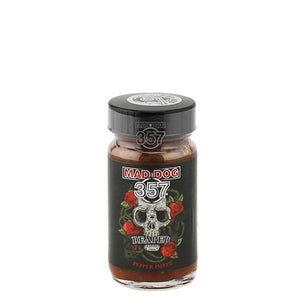 Mad Dog 357 Carolina Reaper Pepper Puree 1-2oz Pepper Puree maddog357.com