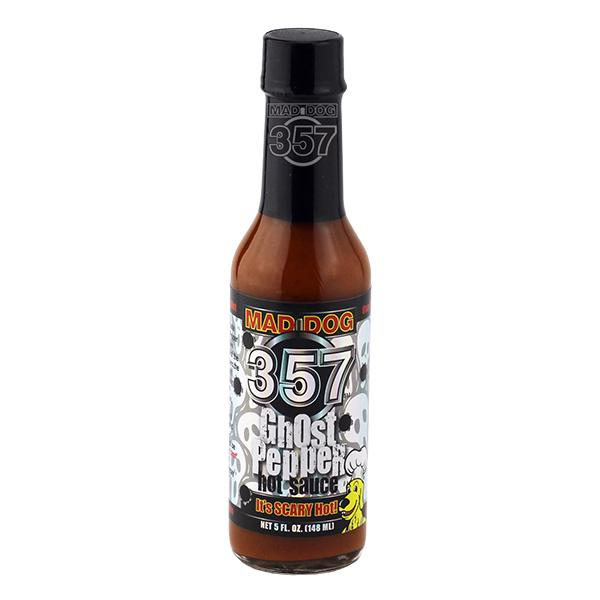 Mad Dog 357 Ghost Pepper Hot Sauce 1-5oz Hot Sauce maddog357.com