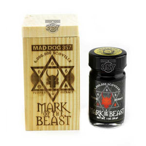 Mad Dog 357 Mark of the Beast 6 Million Pepper Extract 1-1oz Pepper Extract maddog357.com