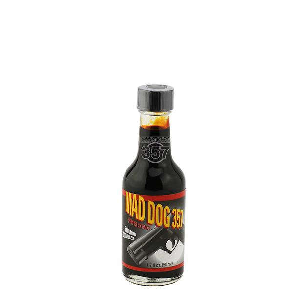 Mad Dog 357 Pepper Extract 5 Million Scoville 1-1.7oz Pepper Extract maddog357.com