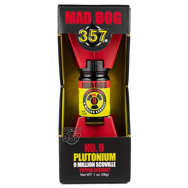 Mad Dog 357 Plutonium 9 Million Scoville Pepper Extract 1-1oz Pepper Extract maddog357.com